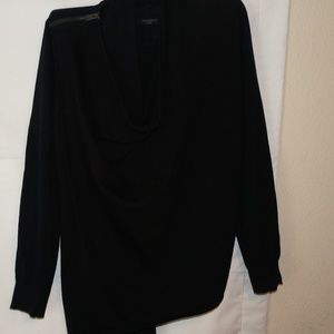 All Saints Black Sweater Large